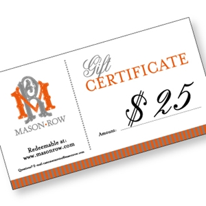 Picture of $25 e-Gift Certificate