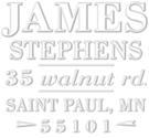 Stephens Address Embosser