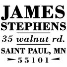 Picture of Stephens Address Stamp