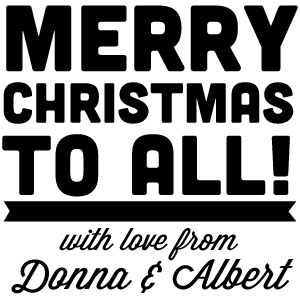 Donna Holiday Stamp