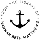 Picture of Matthews Library Stamp