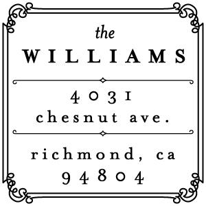 Williams Address Stamp