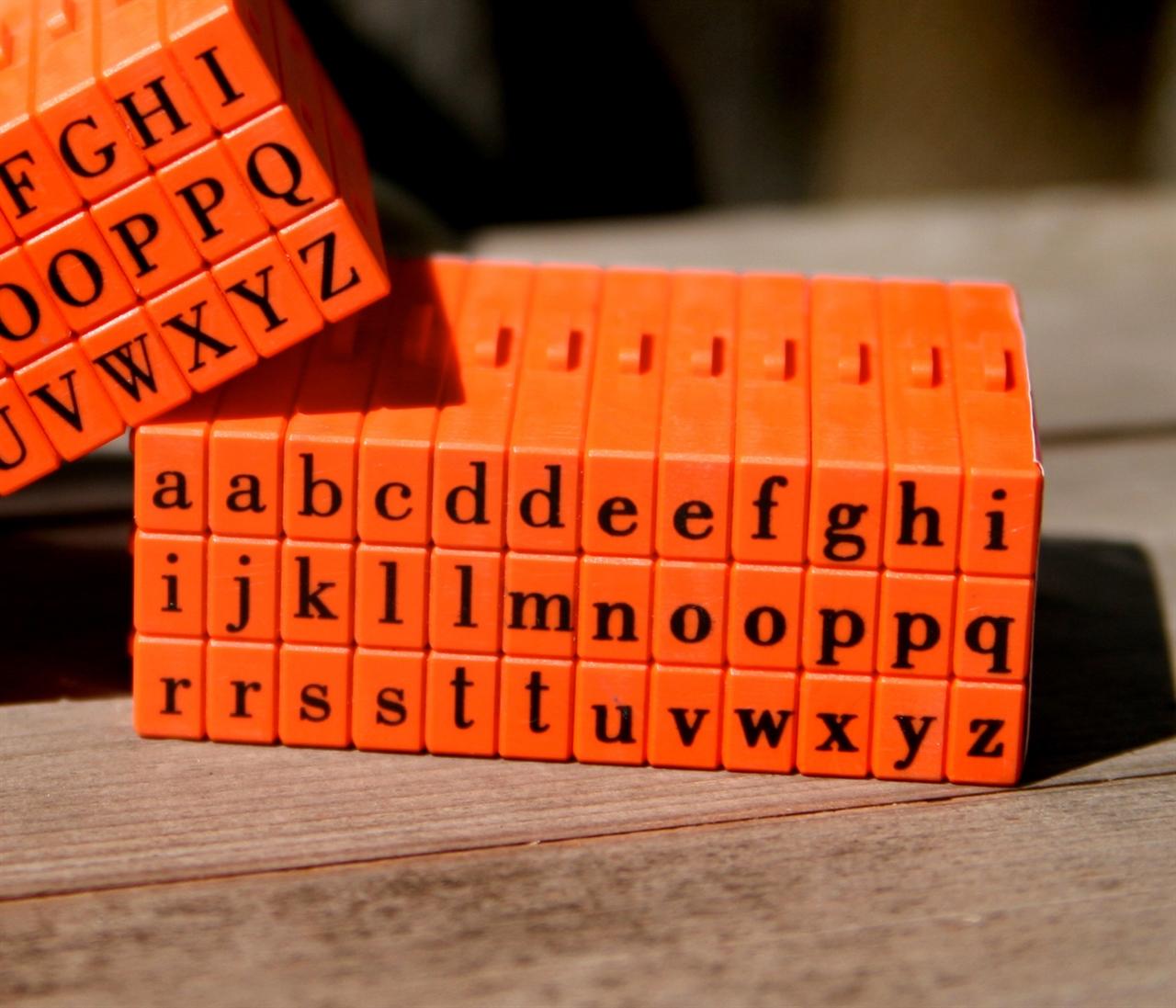 Masonrow Pegz Lowercase Clickable Letterz