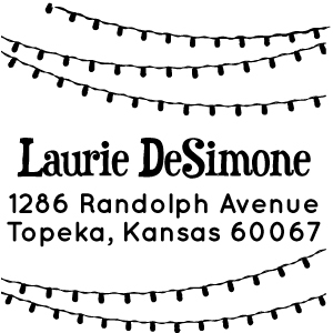 Laurie Holiday Stamp