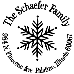 Schaefer Holiday Stamp