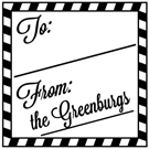 Picture of Greenburg Holiday Stamp