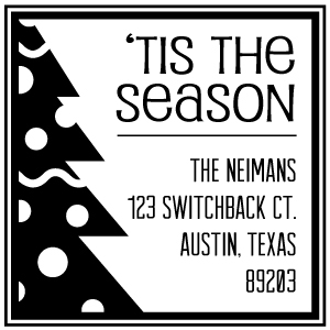 Neiman Holiday Stamp