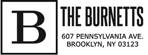 Burnett Rectangular Address Stamp