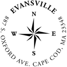 Picture of Evansville Address Stamp