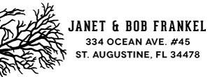 Janet Rectangular Address Stamp