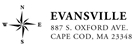 Picture of Evansville Rectangular Address Stamp