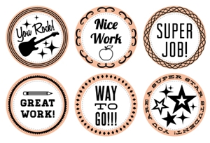 Picture of Words of Encouragement Stamp Set