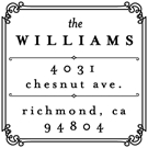 Williams Wood Mounted Address Stamp