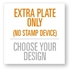 4545 Extra Stamp Plate