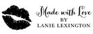 Picture of Lanie Rectangular Craft Stamp