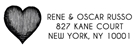 Picture of Rene Rectangular Address Stamp