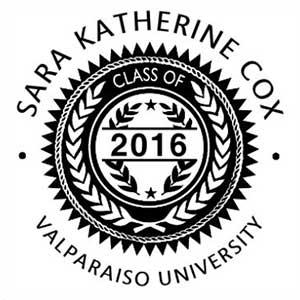 Sara Graduation Stamp