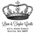Picture of Castle Address Stamp