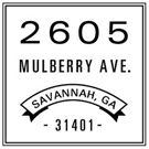 Picture of Mulberry Wood Mounted Address Stamp