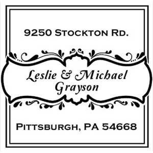 Grayson Address Stamp