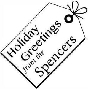Spencer Holiday Stamp