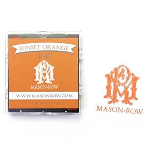 Sunset Orange Square Ink Pad