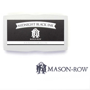 Midnight Black Rectangular Ink Pad