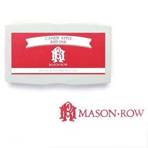 Candy Apple Red Rectangular Ink Pad