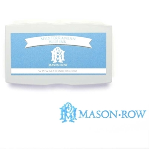 Mediterranean Blue Rectangular Ink Pad