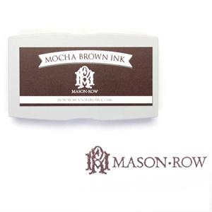 Mocha Brown Rectangular Ink Pad