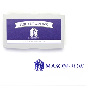 Purple Rain Rectangular Ink Pad