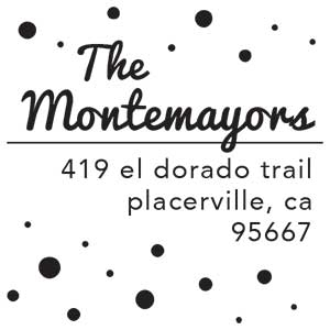 Montemayors Address Stamp