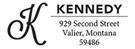 Kennedy Rectangular Address Stamp