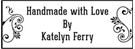 Picture of Katelyn Rectangular Craft Stamp