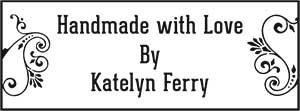 Katelyn Rectangular Craft Stamp