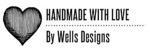 Wells Rectangular Craft Stamp