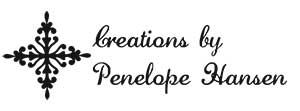 Penelope Rectangular Craft Stamp