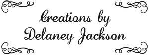 Delaney Rectangular Craft Stamp