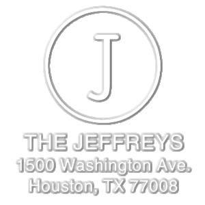 Jeffreys Address Embosser