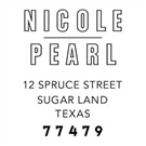 Picture of Nicole Address Stamp