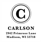 Carlson Address Stamp