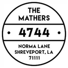 Picture of Mathers Address Stamp