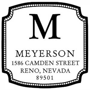 Meyerson Address Stamp