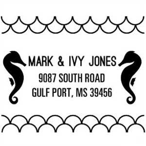 Ivy Address Stamp