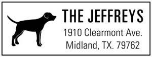 Clearmont Rectangular Address Stamp