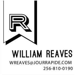 Reaves Wood Mounted Social Stamp