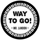 Landon Wood Mounted Teacher Stamp