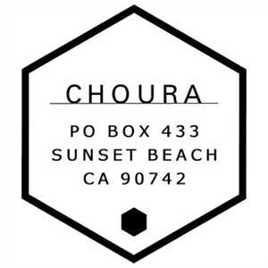 Choura Wood Mounted Address Stamp