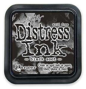 Tim Holtz Distress Ink Pad: Black Soot