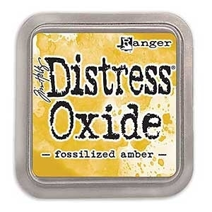 Tim Holtz Distress Oxide Ink Pad: Fossilized Amber